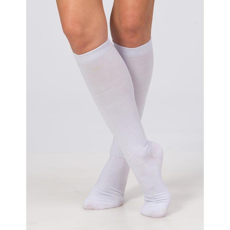 Trofé Support socks knä 01600 1000 vit