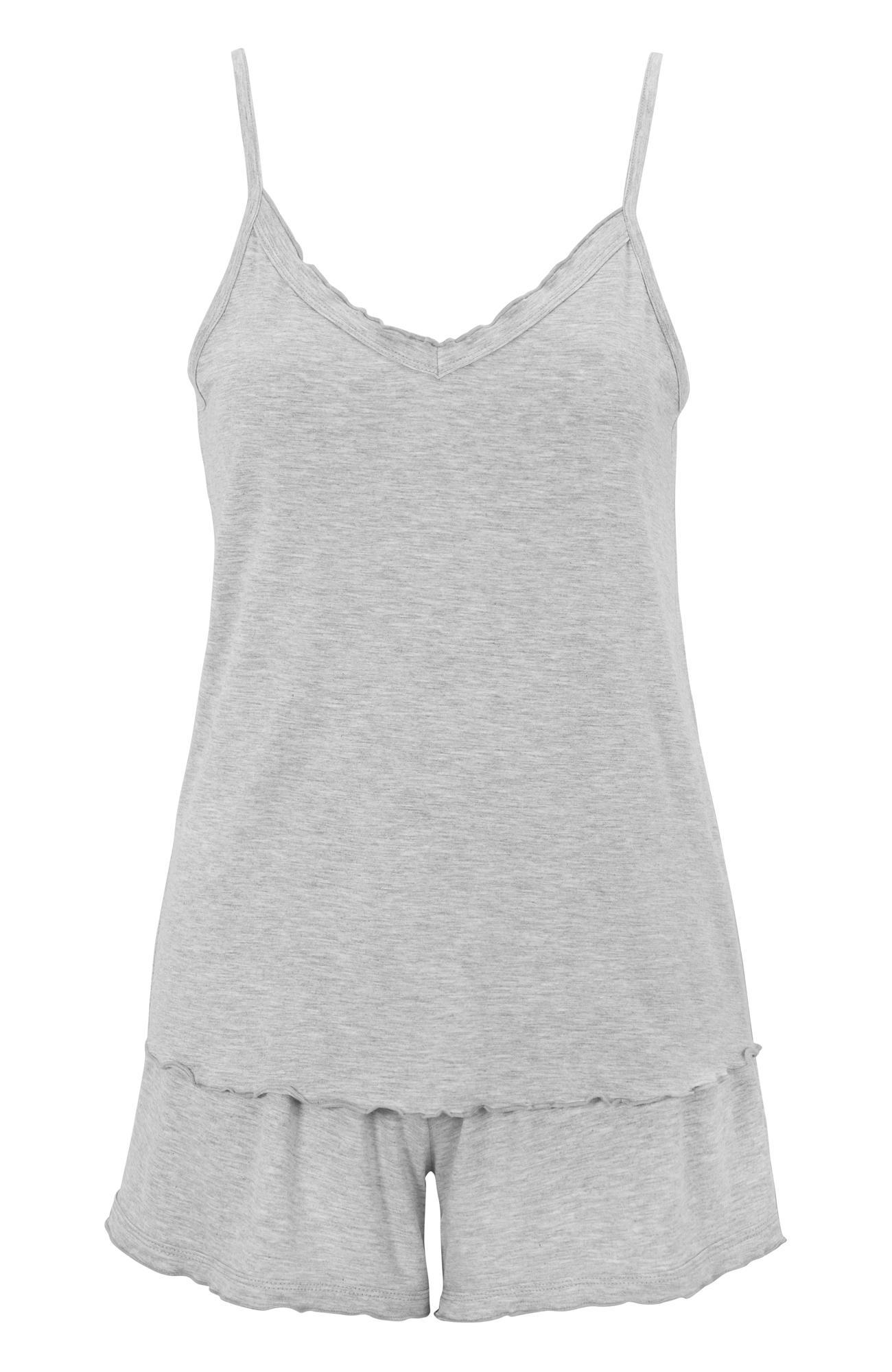 Damella Pyjamas i bambu 79501 / grey melange