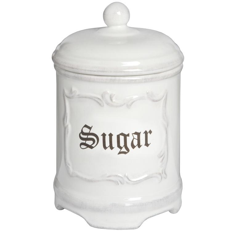 Sockerbehållare- Burk i porslin