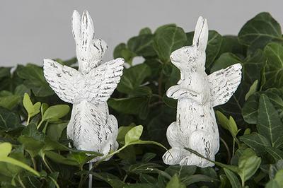 Hare med änglavingar -Stick