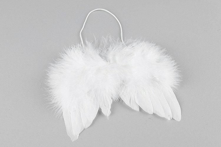 Fluffiga änglavingar- 14 cm