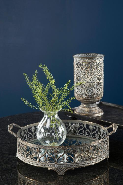 Blomvas i glas