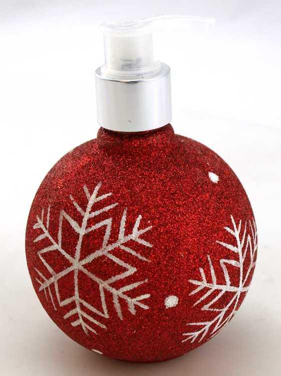 Tvålpump julkula- Tranbär
