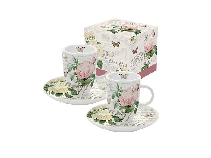 Espressokoppar i box-2 set -Botanique