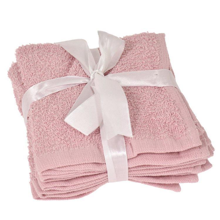 Makeup handduk 4-pack Rosa