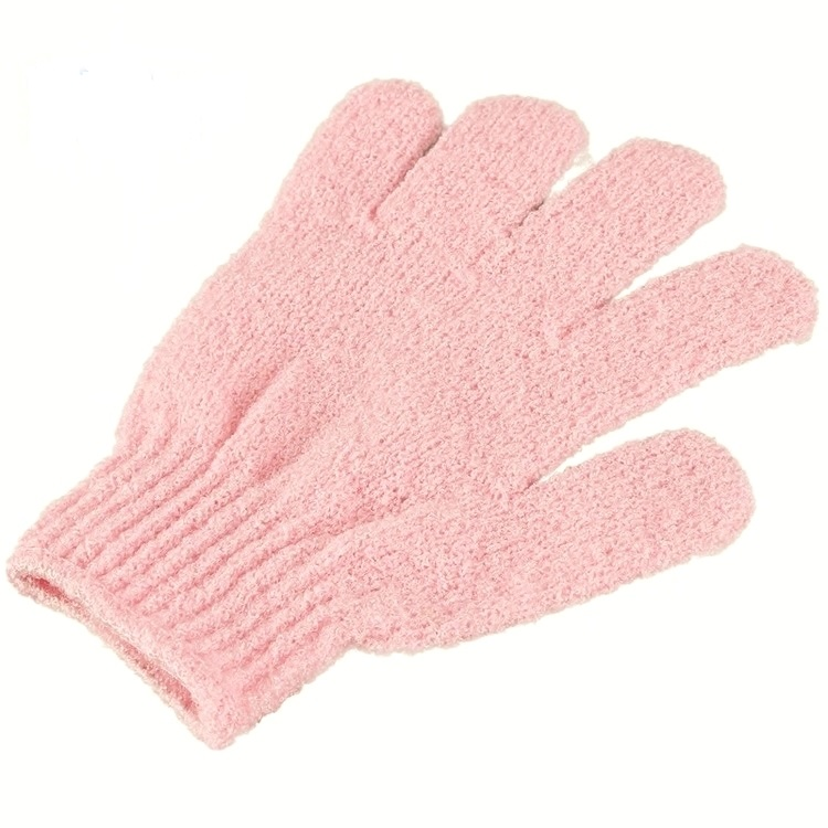 Peelinghandskar-Rosa