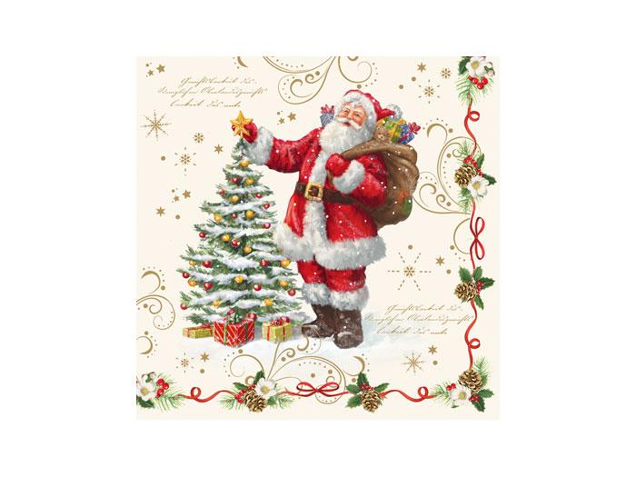 Servett Tomte- Magic Christmas