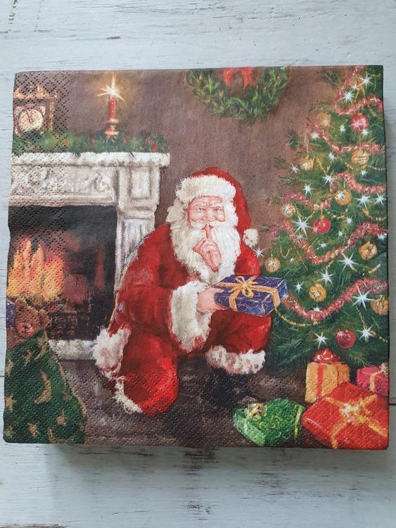 Servetter christmas Santa