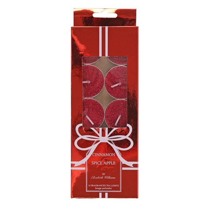 Röda värmeljus med doft-10 Pack