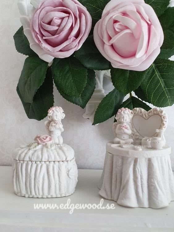 Askar med änglar och rosor- Par