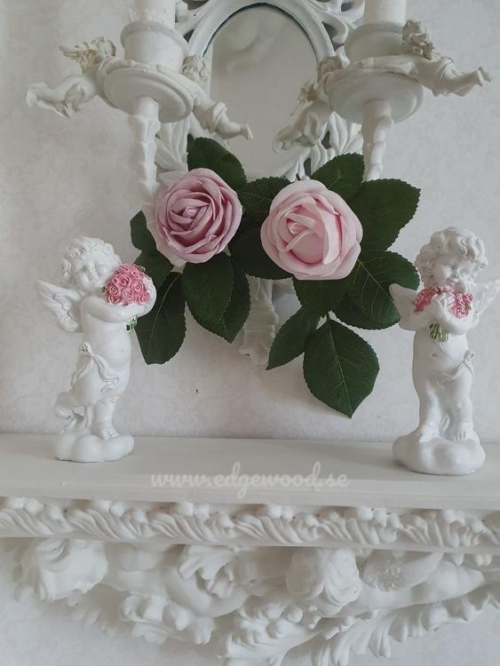 Ängel med blommor-2 olika