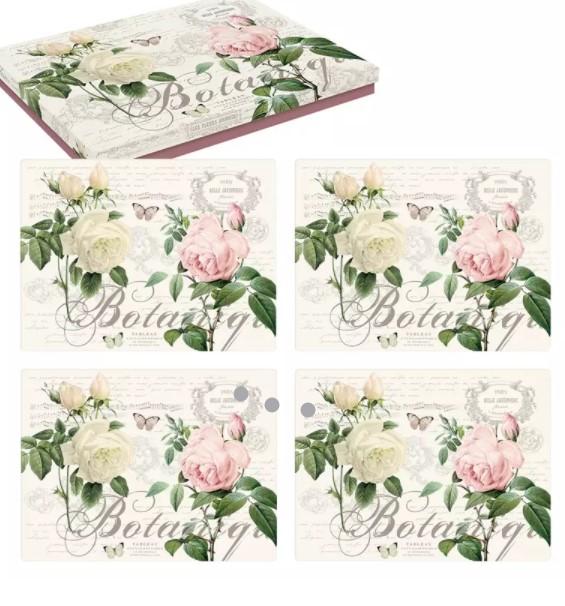 Bordsunderlägg 4-Pack Botanique