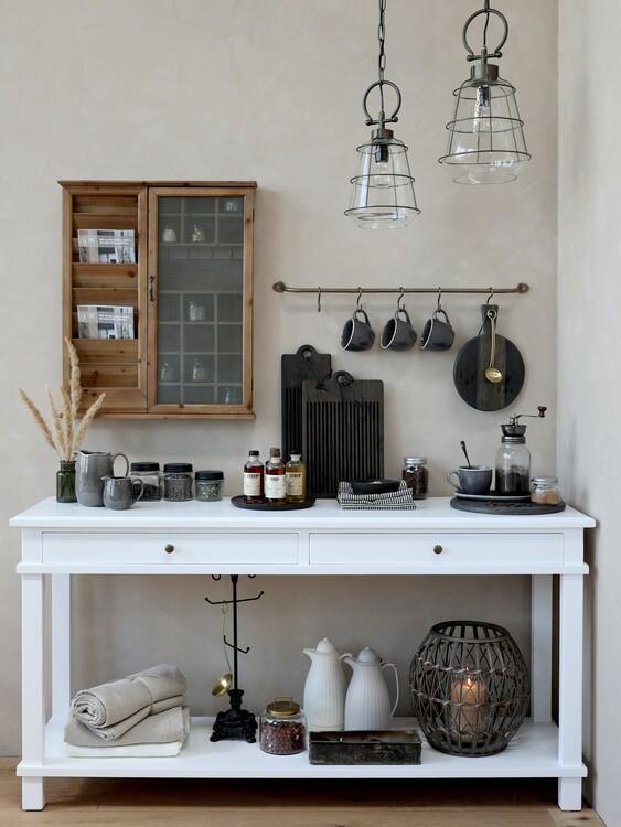 Avlastningsbord med lådor- Chic Antique