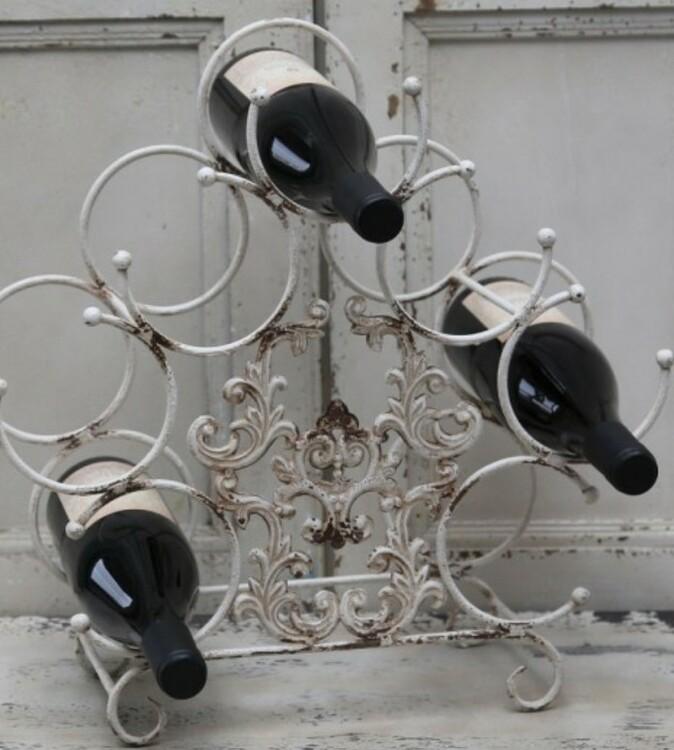 Vinställ fransk stil- Chic Antique
