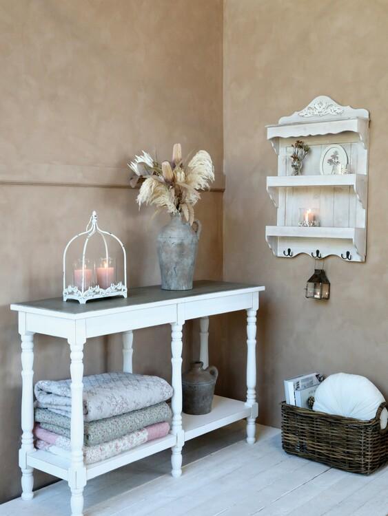 Avlastningsbord med hylla- Chic Antique