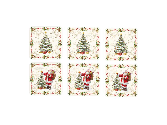 Glasunderlägg coasters- Magic christmas