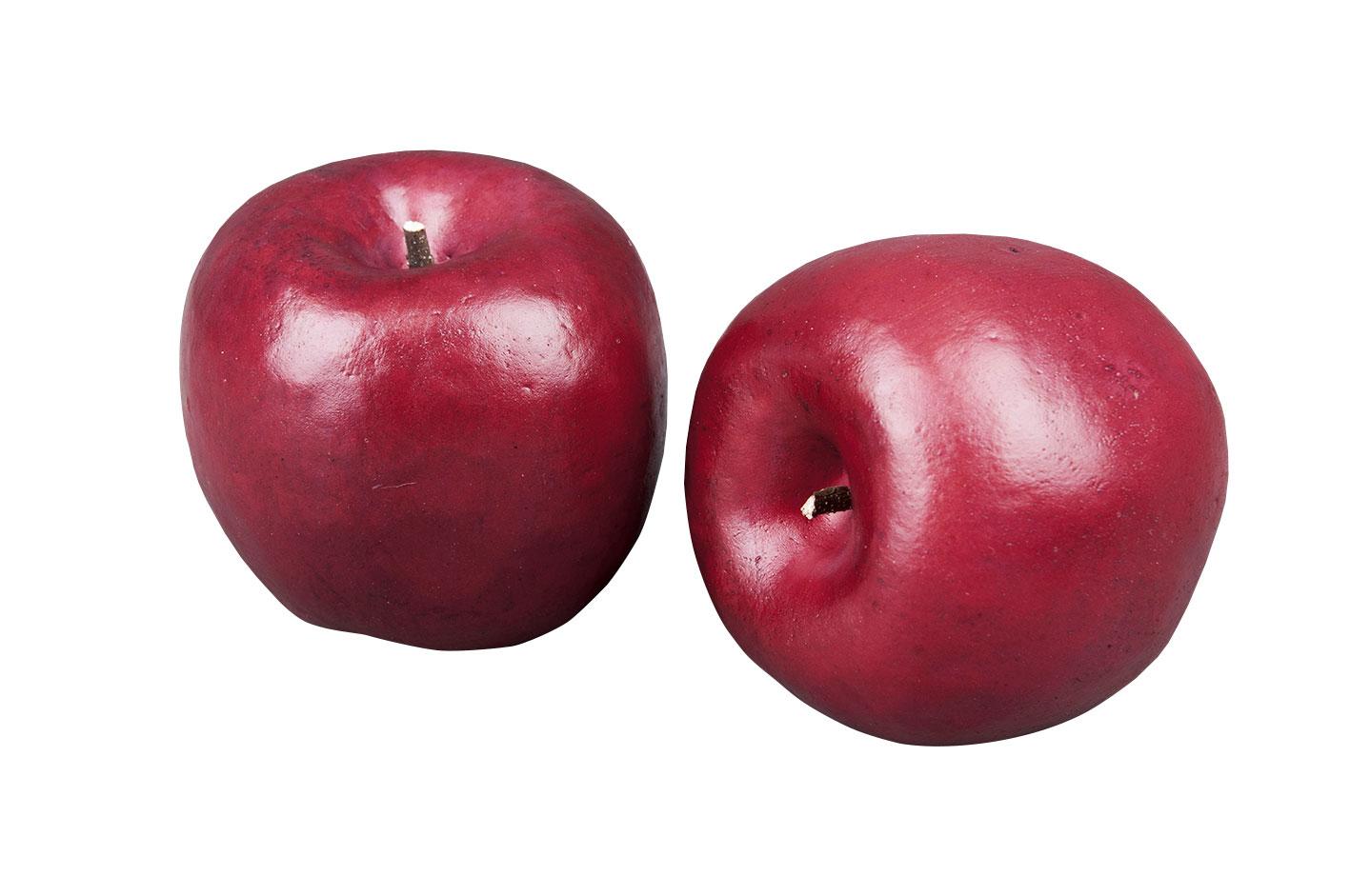 Mörkrött äpple- 70 mm